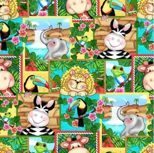 Bazooples - Zoo Animals Patch