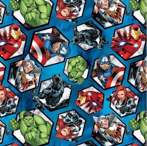 Marvel Avengers Hexagons