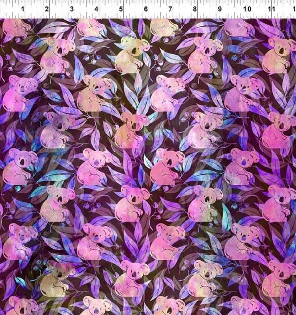 Australian Beauties - Koala Pink/Purple