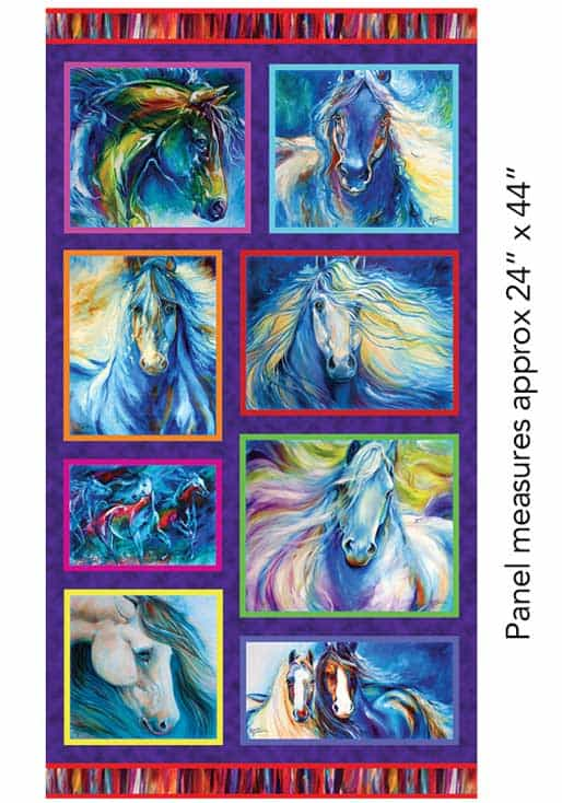 Painted Horse 2 - Panel