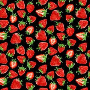 Strawberry Fields Cut Black