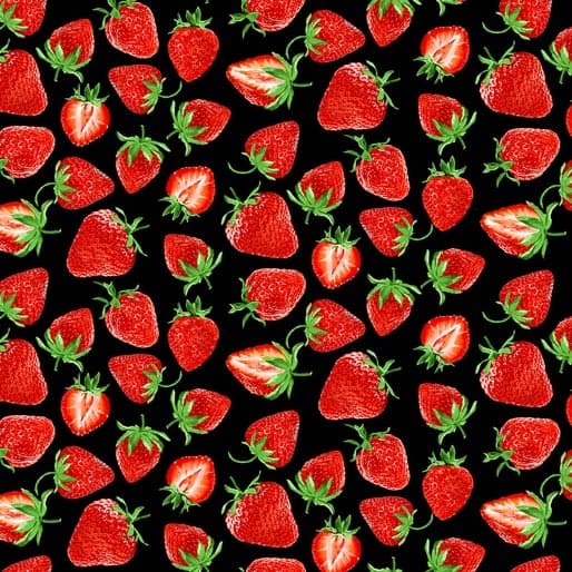 Strawberry Fields Cut Black