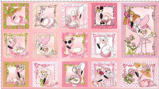 Flamingo Fancy - Panel