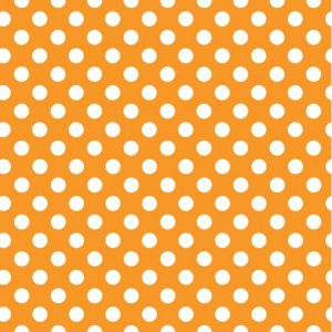Orange and White Dot