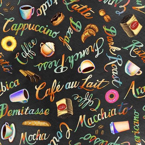 Brewed Awakenings - Coffee Cups, Words and Foods