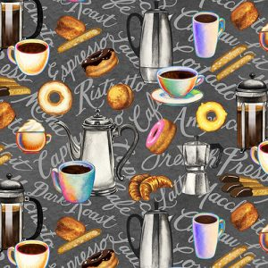 Brewed Awakenings - Coffee Pots, Words and Snacks