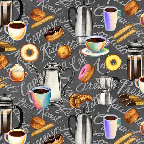 Brewed Awakenings - Coffee Pots, Words and Snacks