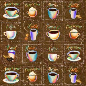 Brewed Awakenings - Coffee Cup Squares