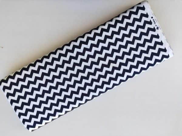 Spots n Stripes - French Navy Chevron