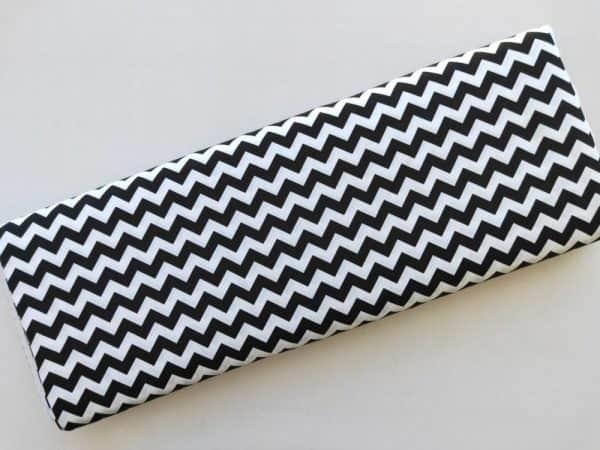 Spots n Stripes - Black Chevron