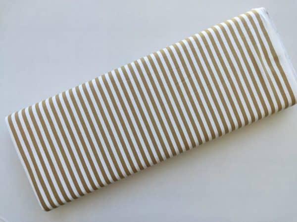 Spots n Stripes - Soft Brown Stripe