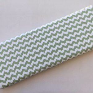 Spots n Stripes - Sage Green Chevron