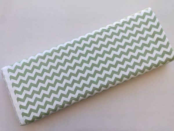 Spots n Stripes - Sage Green Chevron