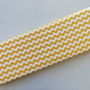 Spots n Stripes - Yellow Chevron