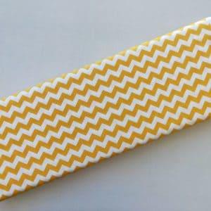 Spots n Stripes - Yellow Chevron