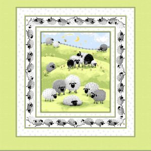 Susybee - Lewe the Ewe Cot Panel
