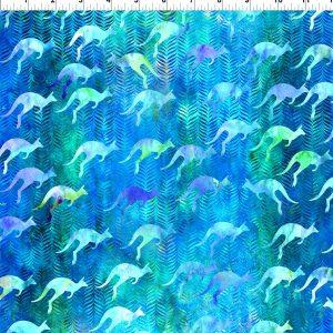 Australian Beauties - Kangaroo Blue