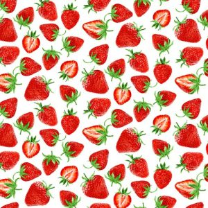 Strawberry Fields Cut White