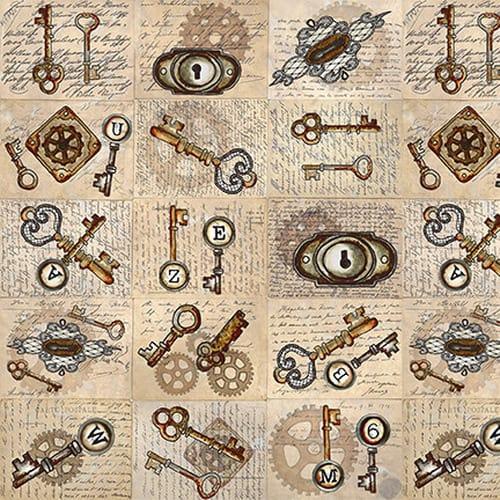 Unknown Voyage - Keys & Locks