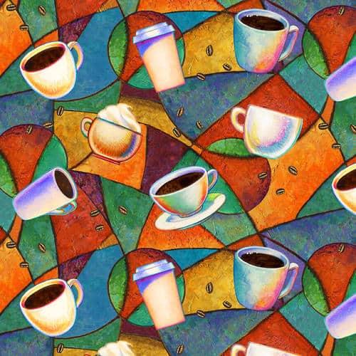 Brewed Awakenings - Tossed Coffee Cups