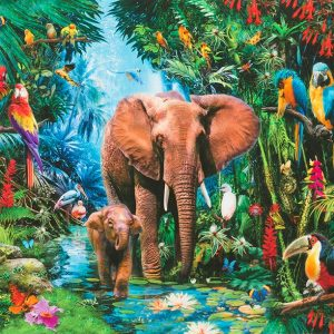 Picture This - Large Elephant Panel