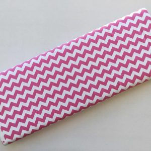 Spots n Stripes - Pink Chevron