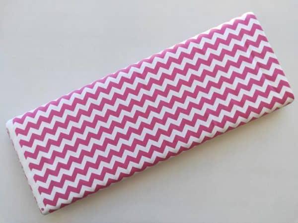 Spots n Stripes - Pink Chevron