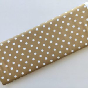 Spots n Stripes - Soft Brown Dot