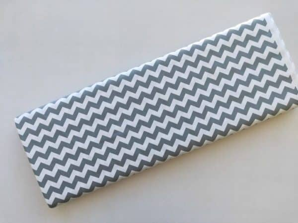 Spots n Stripes - Grey Chevron