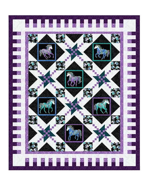 Oh My Stars Quilt Pattern (4 Sizes) OUT OF STOCK
