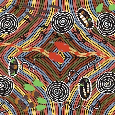 Indigenous Australia - Rainbow Snake
