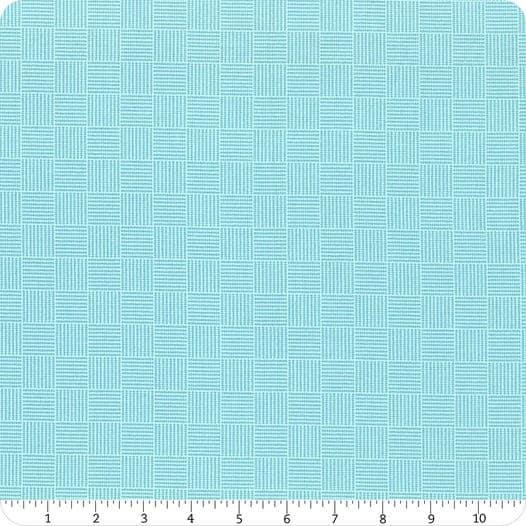 Roseberry Cottage Blue Grid