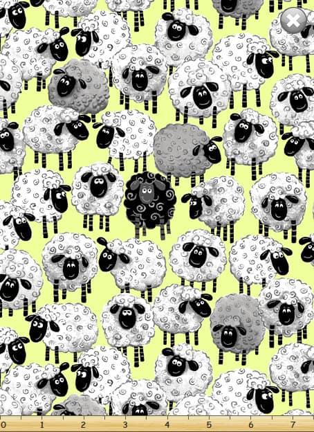 Susybee - Sheep on Green