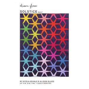 Alison Glass Quilt Pattern - Solstice